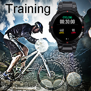 Smart Watch for Men Military Tactical Sports Watches Fitness Trackers Watch Activity Trackers