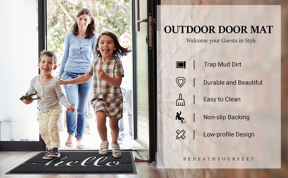 BeneathYourFeet Outdoor Door Mat