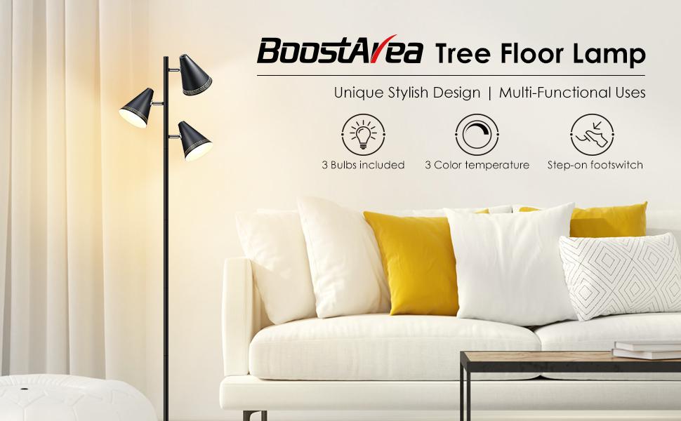 BoostArea Tree Floor Lamp