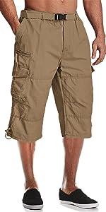 woek shorts for men