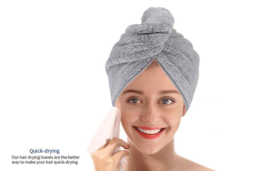 Microfiber Hair Drying Towel