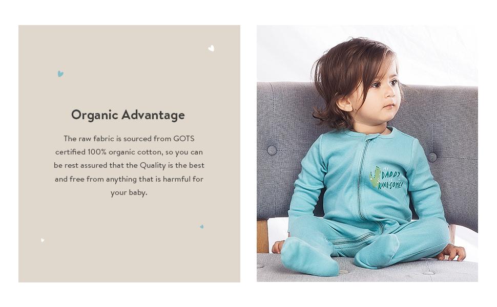 baby organic sleep and play