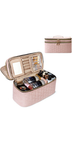 Double Layer Makeup Bag