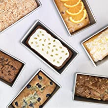USA Pan Loaf Pans - all the flavors of quick bread