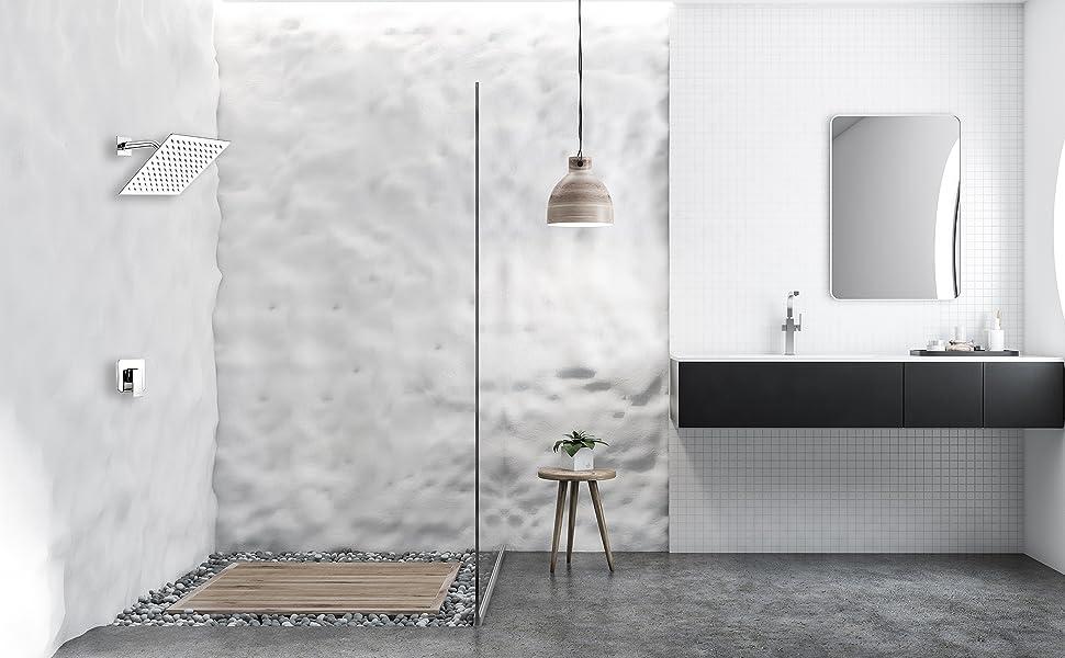 shower system chrome