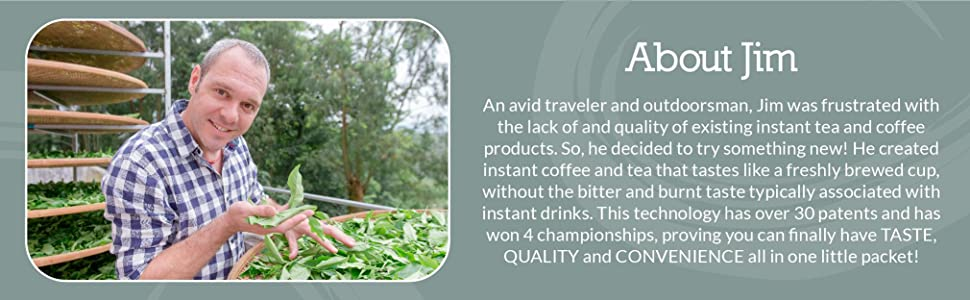Cusa Tea amp; Coffee was created to have taste, quality, and convenience anytime, anywhere.