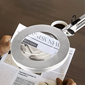 Magnifier Bench Lamp