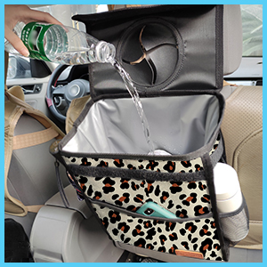 car trash can leakproof