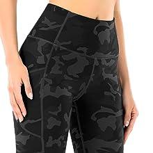 Yogabroek voor dames met hoge taille