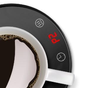 black coffee cup warmer auto shut off