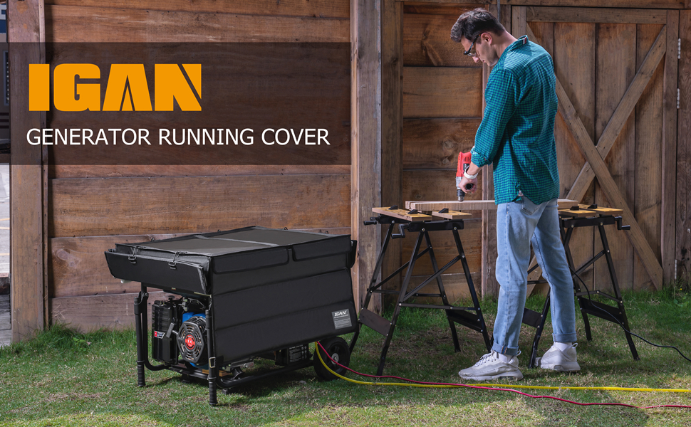 generator covers while running