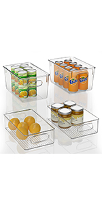 clear pantry bins