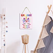 girl cave sign