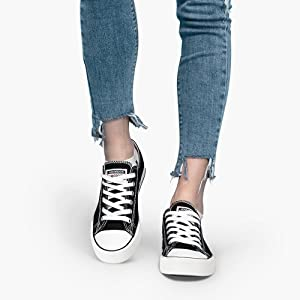 Low-top shoes