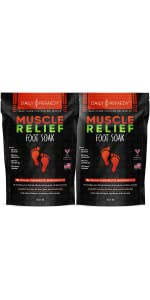 Muscle Relief Foot Soak - 2 Pack