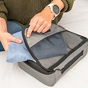Fit more in Zoomlite Packing Cubes