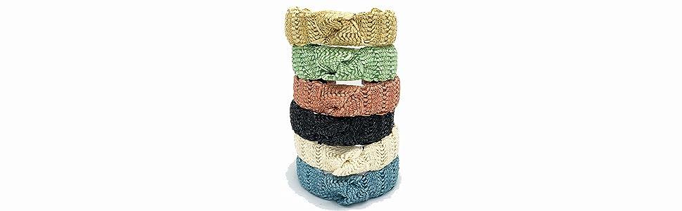 straw headbands