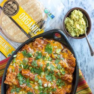 Enchiladas in 3 Flavors