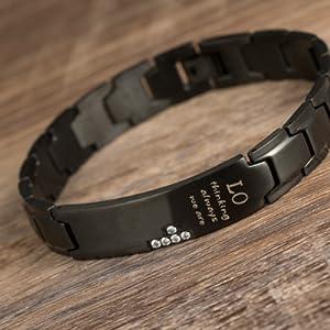 couple distance bracelets for men women