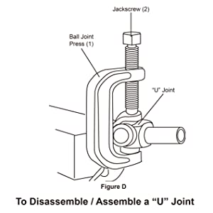 To Disassemble / Assemble a U Joint