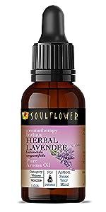 Herbal lavender aroma oil