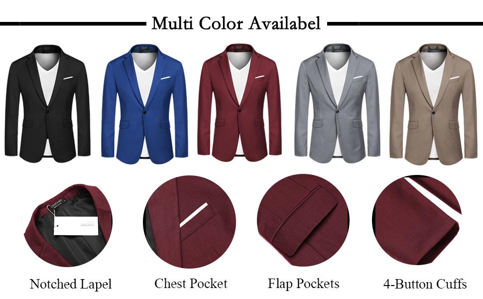 COOFANDY Men's Casual Sports Coats Dress Blazer Stylish Lightweight Suit Jackets