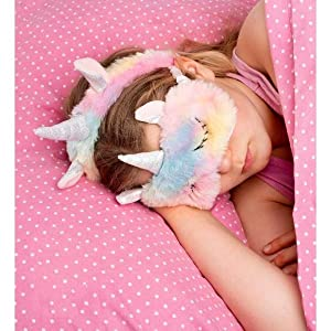 sleeping mask for girls sleep eye unicorn band cooling accessories slipper hairband