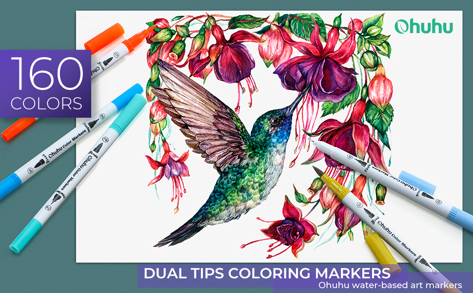 coloring marker