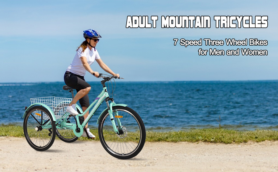 Adult Mountain Tricycles