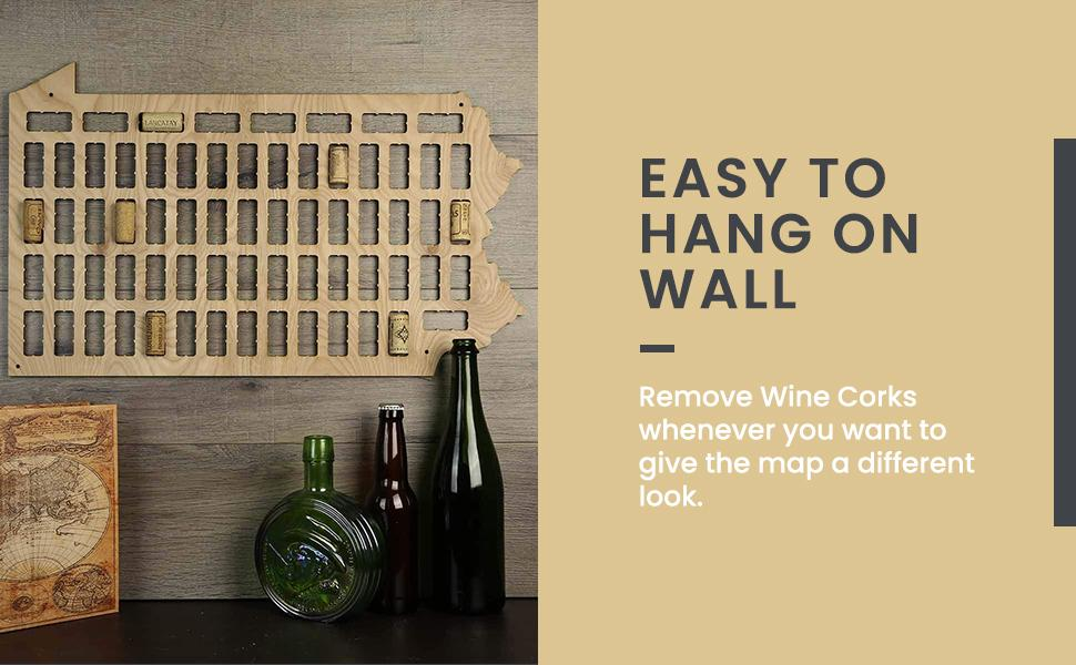Hang on wall
