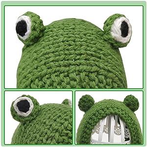 Big 3D Frog Eyes