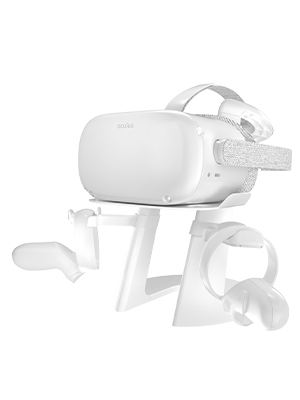 WHITE VR STAND FOR OCULUS QUEST 2