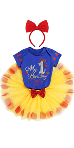 Princess 1st Birthday Outfit Baby Girls Cake Smash Photo Shoot 1st Halloween Outfits