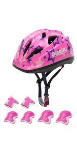 Kids Helmet Set Pink