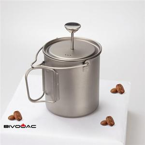 Outdoor Camping Coffee Press Pot