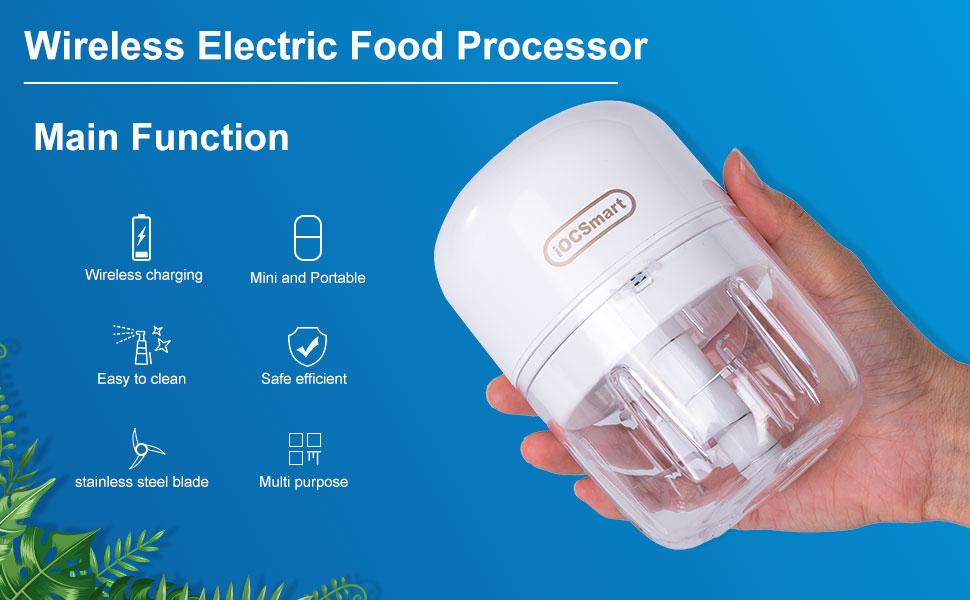 Portable Mini Baby Food Garlic Chopper
