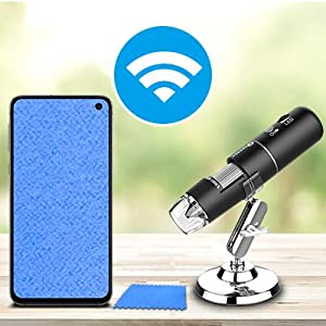 Wireless Digital Microscope Compatible with Samsung Galaxy, Android