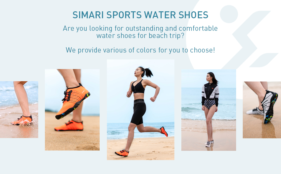 Water Shoes Mens Womens Sports Quick Dry Barefoot Diving Swim Surf Aqua Walking Beach Yoga