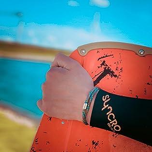 Waterproof marine style wrist band