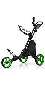 3 Wheels Golf Push Cart