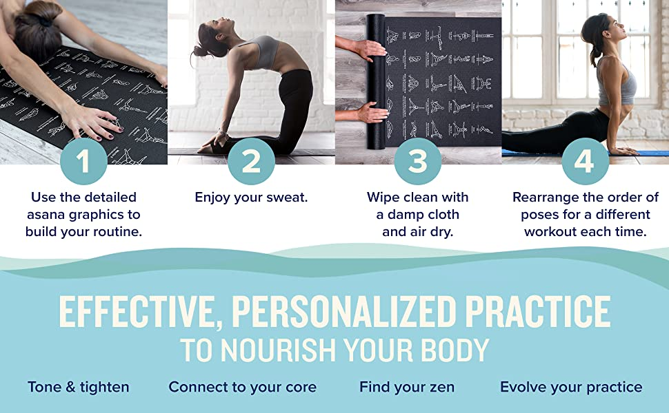 Effective, personalized practice to nourish your body