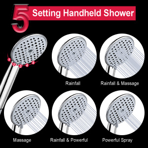 Shower head combo