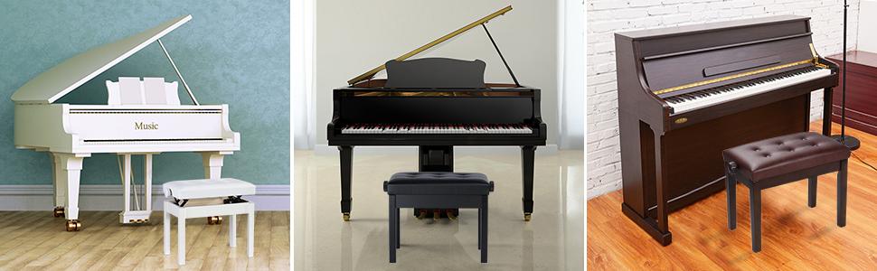 tabouret pour piano reglable