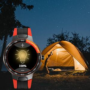 smart watch with adjustable brightness