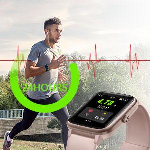 waterproof sports exercise smart watch