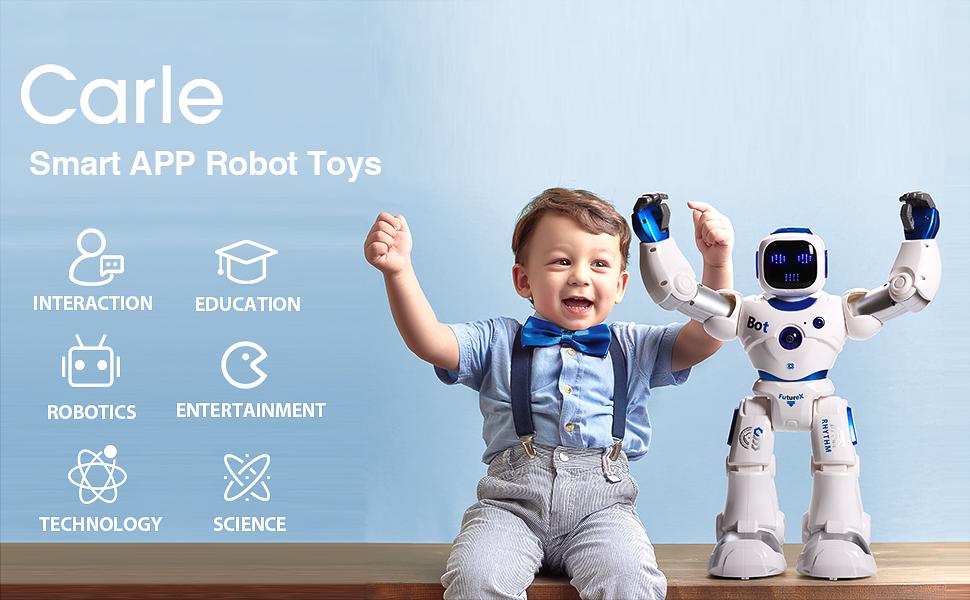 Ruko Smart Robot Little kid interacting