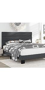 1322 grey bed