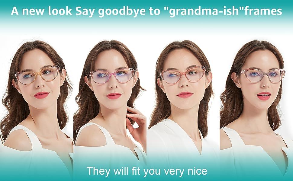 blue light reading glasses lentes para leer mujer blue light readers cat eye blocking reading glass