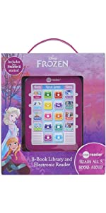Frozen and Frozen 2 - Me Reader Electronic Reader and 8-Sound Book Library