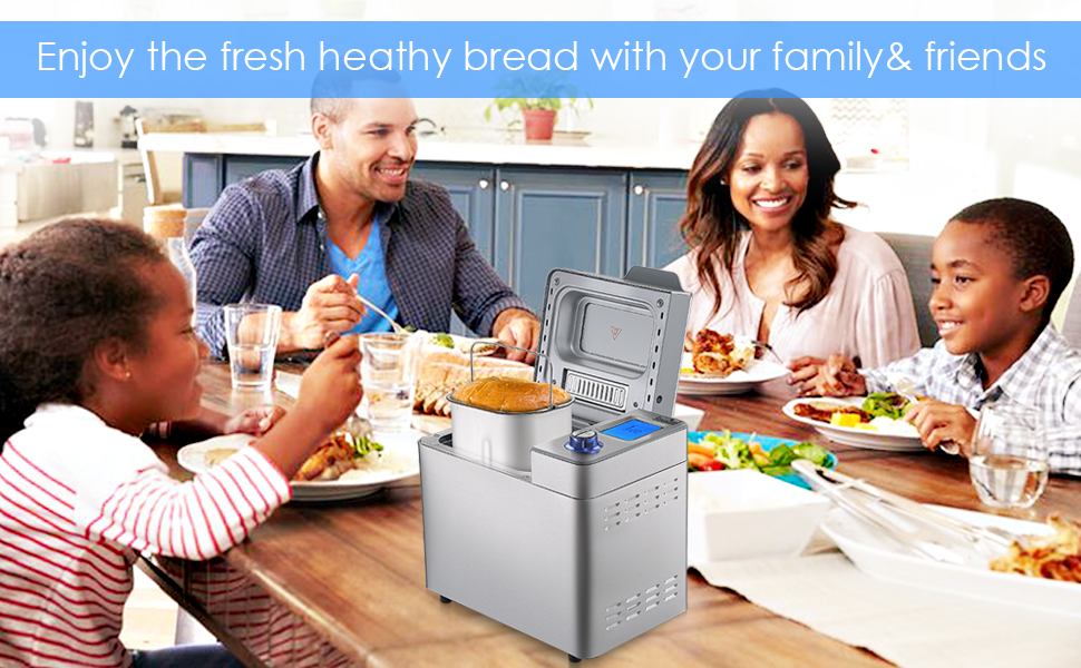 Enjoy the fresh heathy bread with your family& friends